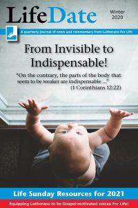 LifeDate Winter 2020 – From Invisible to Indispensable!