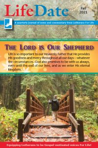 LifeDate Fall 2021 – The Lord Is Our Shepherd